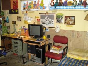 My room, Sabarmati Hostel 2008