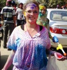 JNU Holi documented; click here