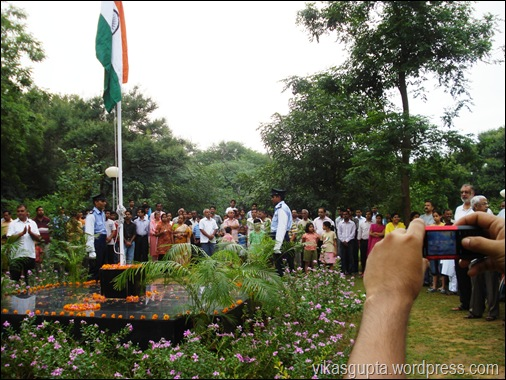 JNU campus independence day