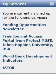 GDN free access to JSTOR