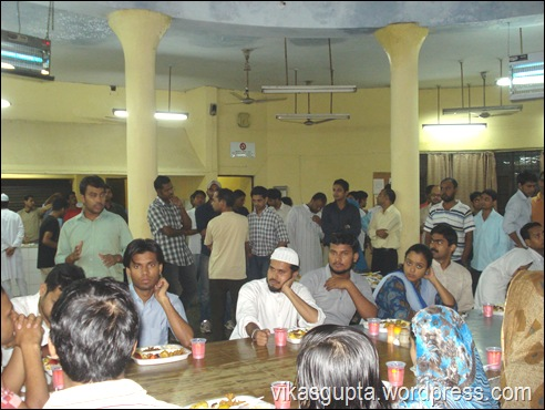 Iftar JNU Sabarmati Hostel Documented by Vikas JNU