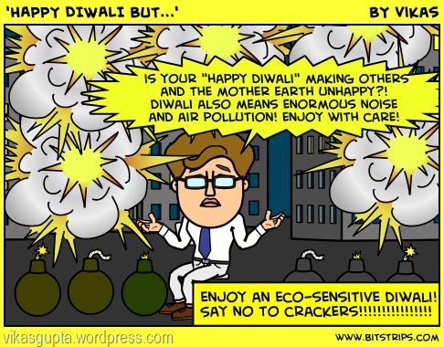 Happy diwali comics